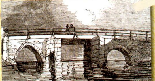 Previous Quay or Key Bridge before the current one built in 1822