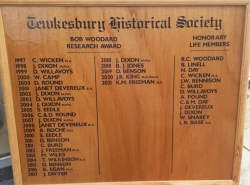THS Honours Board