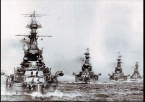 Dreadnoughts at Jutland (NMRN)