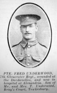 L/Cpl. Fred Underwood