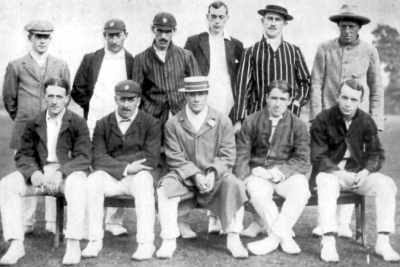 Jessop's County XI at Tewkesbury 1908
