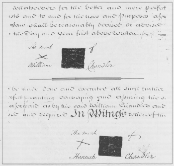 Extracts from Deeds 1783