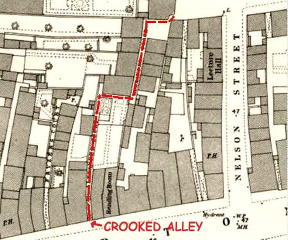 Crooked Alley 1880